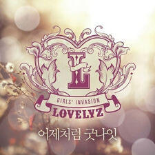 LOVELYZ - 1ST ALBUM [ GIRLS' INVASION ] CD+2 PHOTO CARD feat.DONGWOO, WHEESUNG