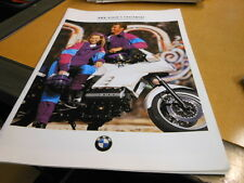 NOS NEW Vintage Brochure BMW 1993 Riders Equipment Catalog