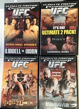 4~UFC~DVDs~UFC#~43~44~47~54~Mint Condition!! Free Shipping!!