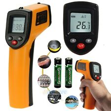 Non-Contact Digital IR Infrared Laser Point Thermometer Temperature Meter Gun US