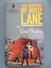 VINTAGE Enid Blyton Book MYSTERY OF HOLLY LANE  Five Find outers 1965 Nice Copy