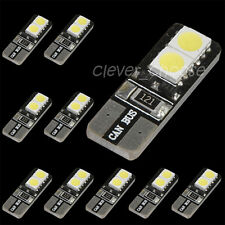 10 x CANBUS ERROR FREE LED White T10 168 194 W5W Wedge 4-SMD 5050 Light bulb