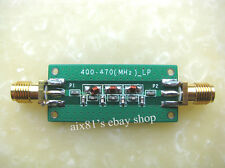 New 400-470Mhz 433Mhz Low-pass Filter LPF SWR  1.22
