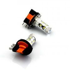 VW Golf MK6 Transporter H15 Xenon White Cree LED Daytime Running Light Bulbs 80W