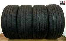 Set of 4 Full Tread Kumho Crugen Premium 245/45/R19 245 45 19 Tires -Driven Once