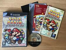 Paper Mario The Thousand-Year Door Nintendo GameCube Game | PAL Complete VGC
