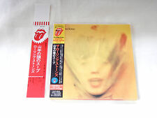 Rolling Stones JAPAN 1st issue Goats Head Soup Mini LP CD SS + PROMO OBI STRIP