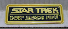 Star Trek DS9 Name Plaque Cloisonne Pin-Vintage (TRK-1013)