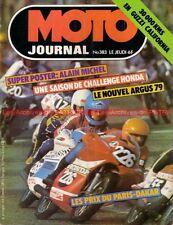 MOTO JOURNAL  383 GUZZI 850 T3 California BFG 1300 ; YAMAHA YZ Paris Dakar 1978