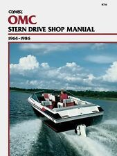 OMC Stern Drives, 1964-1986 by Clymer Publications Staff and Kalton C. Lahue...