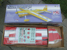 "WORLD MODELS EXTRA SPORTS 30 ARF R/C STUNT AIRPLANE, 52"" WINGSPAN, RADIO CONTROL"