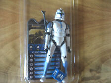 STAR WARS  clone wars CLONE TROOPER JESSE - speeder bike pilot - loose-mint+case
