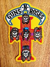 GUNS N' ROSES EMBROIDERED PATCH IRON ON or SEW Hard rock Heavy metal Blues.#1