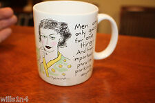 Coffee Mug 1998 Hallmark Men are only good for one thing..by Denise B5