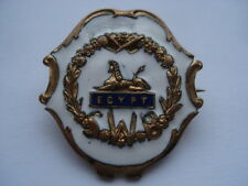 CWW1 VINTAGE SOUTH WALES BORDERERS WHITE FACED ENAMEL SWEETHEARTS PIN BROOCH