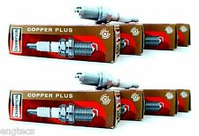 8x CHAMPION rc12yc/w24 71gs copper plus rc12yc w24 CANDELA oe013/t10