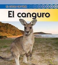 El canguro (El ciclo de vida) (Spanish Edition)-ExLibrary