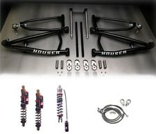 Houser Long Travel XC A-Arms Elka Stage 4 Front Rear Shocks Suspension YFZ450X