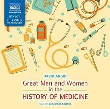Great Men and Women in Medicine - Soames,Benjamin - Angus,David *2 CD*NEU*978184