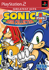 Sonic Mega Collection Plus [Playstation 2 PS2 Play as Knuckles 1 2 3 Sega] NEW