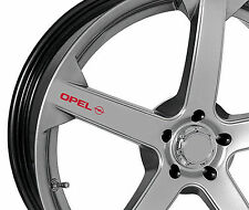 4 x Stickers for Wheels fits Opel Astra Corsa Insignia Vectra OPC Emblem Logo R
