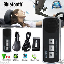Bluetooth Car Kit Handsfree Speakerphone USB Multipoint Speaker for Cell Phone