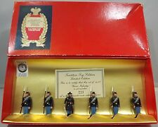BOXED SET OF TRADITION TOY SOLDIERS SET NO. 17 UNION INFANTRY LTD. ED.