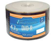 Optical Quantum 4.7GB 16X DVD-R White Inkjet Hub Printable 50 Packs Disc Model O