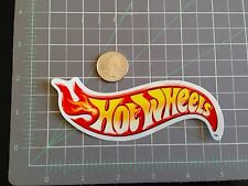 Hot Wheels Decal Sticker Red Yellow Flame Rare