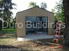 DuroBeam Steel 25x50x16 Metal Building Kits Residential Garage Workshop DiRECT