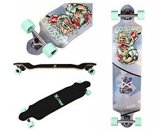 Xtreme Free 42 Inchs Professional Speed Downhill Drop Down Complete Longboard