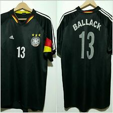 Maglia calcio Germania vintage 13 Ballack.shirt camiseta soccer vintage germany