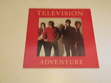TELEVISION - ADVENTURE - LP ELEKTRA REISSUE MADE IN UK - TOM VERLAINE - NM/VG++