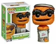 FUNKO POP SESAME STREET #03 OSCAR THE GROUCH (ORANGE) EE EXCLUSIVE VINYL FIGURE