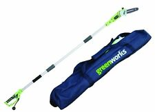 "GreenWorks 6.5-Amp 3-Piece Corded Pole Saw w/8"" Cutting Bar & Carrying Case Saw"