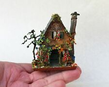 D/house Miniature 1/144 Witch Cottage Tiny & OOAK - Doll House for a Doll House