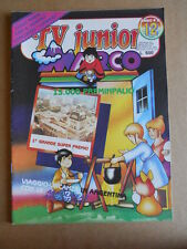 TV JUNIOR n°12  1982 Galaxy 1999 Bia Marco ed. ERI RAI  [G419A]