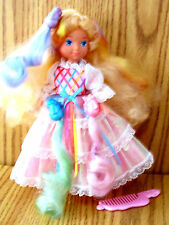 Lady Lovely Locks Doll Mattel 3 Pixie Tails, Shoes, Comb Original Close to Mint