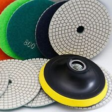 5 Inch Diamond Polishing Pad SET Granite Marble Concrete Stone Tile WET DRY Saw