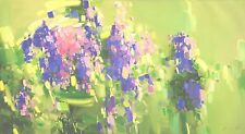 Lavenders Oil painting on Canvas Abstract art Large Size Hand Painted