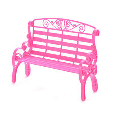 1 X Fashion Beach Chairs for Barbies Dollhouse Furniture Double Chair Kids Z0F