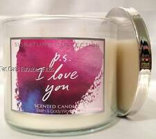 PS I LOVE YOU Candle 14.5oz Bath & Body Works *RARE*
