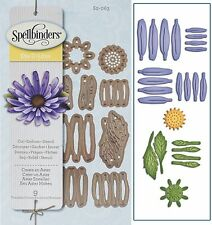 SPELLBINDERS SHAPEABILITIES CUTTING DIE D-LITES CREATE AN ASTER UNIVERSAL FIT