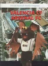2000-01 Valencia v Arsenal - Champions League