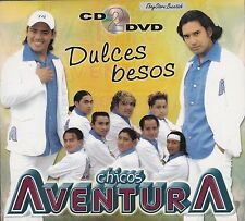 CHICOS AVENTURA DULCES BESOS  NEW CD+DVD SEALED