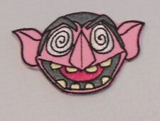 "SESAME STREET'S COUNT  2 1/2"" EMBROIDERED PATCH SEWN ON/IRON ON"