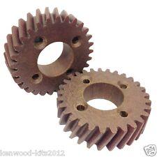 2 x hobart 55614-1 fibre gear worm drive cog A120 AE125 A200 AE200 malaxeur.