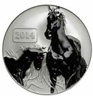 2014 Tokelau Large 1 oz .999 Silver $5- Year of the Horse-Lunar