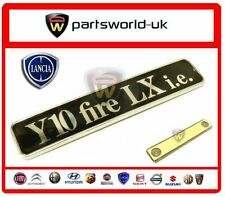 Brand new, Genuine Lancia Y10 Fire LX i.e badge in mint condition
