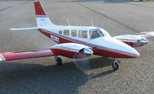 "Scale Piper Senaca Twin  85"" Giant Scale RC Model AIrplane Printed Plans"
